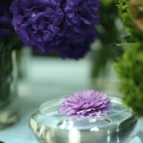 花衣施術風景